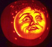 Man in the Moon by pumpkinsbylisa