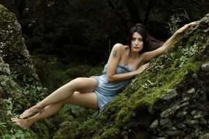 Wood Girl by PamelaColnaghi