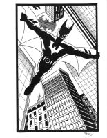 Batman Beyond by Tyrren