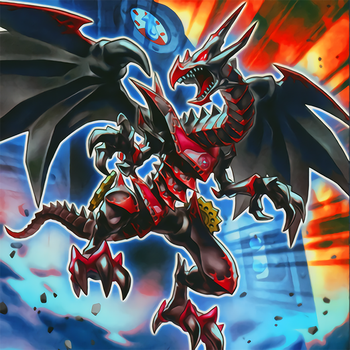 Red-Eyes Retro Dragon by Yugi-Master