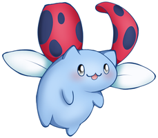 Catbug Sticker c: by InuYashaxLover
