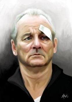 Bill Murray by WEAPONIX