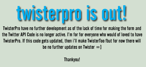 TwisterPro is Out by MiniDoc569