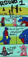Fighting Round 1 part 1 by lolcatsarelol