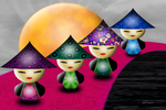 Little China Dolls by 21citrouilles