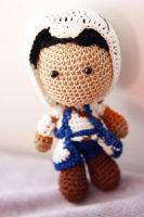 Assassins Creed: Connor Kenway Crochet Doll by Nissie