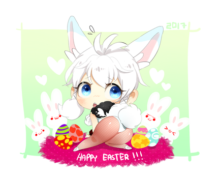 Happy Easter! by Unichrome-uni