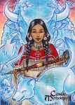 White Buffalo Calf Woman by AmyClark