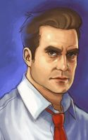 Nathan Petrelli Sketch by Flipsi