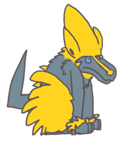Shiny Manectric by Zalcoti