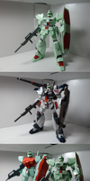 Heavygun and Hardygun 1/100 models by Blayaden