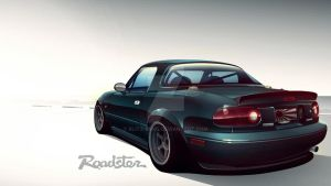 Mazda Roadster Vector by Blitz-Wing