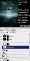 Photoshop layers details by jsmonzani