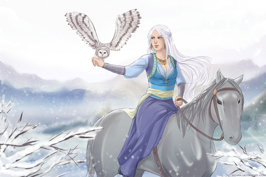 :: Winter hunt :: by sionra
