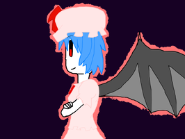 Remilia Scarlet FAIL by Lucaslover89
