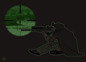 Sniper Elite - Master Chief Gil Shannon by flashmcgee