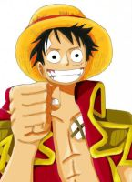 Monkey.D.Luffy by BKuma