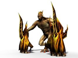 Demon Game Model by Dougernaut