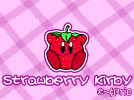 Strawberry Kirby by clariecandy