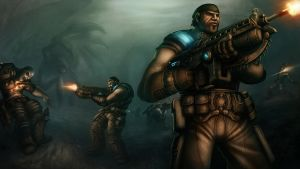 Gears of War by AdamRoush