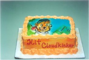 Kit Cloudkicker birthday cake by chrisno51