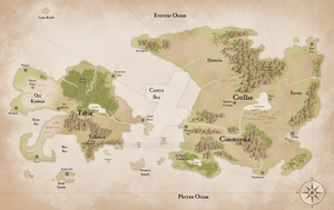 Map of Crellan and Tabia by Agent505