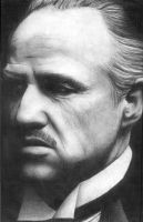 Marlon Brando as Don Vito by Gringa87