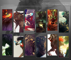 2016 Summary Of Art by Cakeindafridge