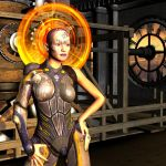 Daughter of Chronos by silverexpress