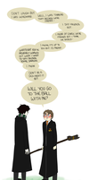 Because Potterlock by brewhay