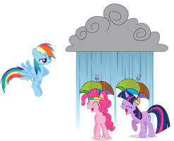 Prank Failed - We Got Umbrella Hats! by GoblinEngineer