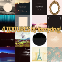 4 textures by itsmydrug