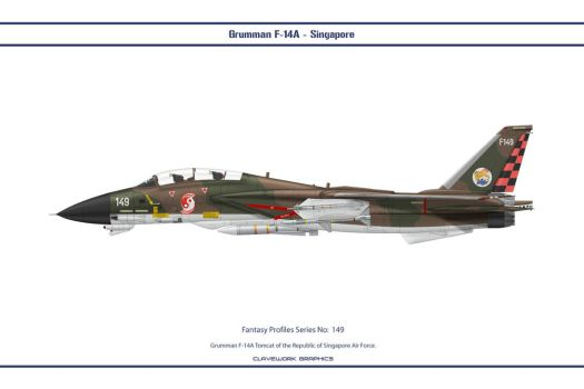 Fantasy 149 F-14A Singapore by WS-Clave