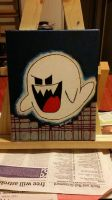 Mario Ghost by ddaythedestroyer
