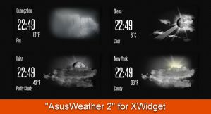 AsusWeather 2 for xwidget by jimking