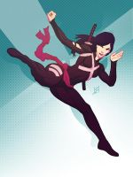 Psylocke from X-force by ronsalas