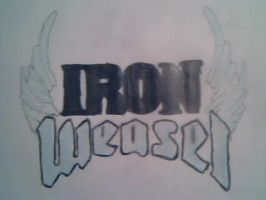 IRON WEASEL by paintingsanddrawings