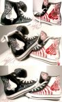 Mad Ace -Custom Shoes- by EqualsXzero