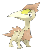 #??? Reptzal by Smiley-Fakemon