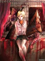 Silent hill Heather by DemonG3