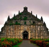 paoay church 5 by glyzkietot