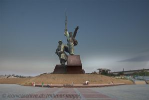 Sevastopol, War Memorial by iconicarchive