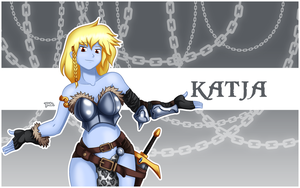 Konfident Katja Wallpaper by Blazbaros