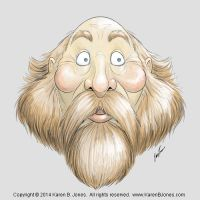 Bearded Man by K-B-Jones