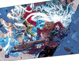 Thor #4 preview by RDauterman