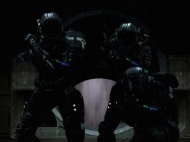 Halo Reach: the three shadows by purpledragon104