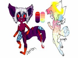 {CLOSED} Tail mouth auction by Flare-goes-OM-adopts