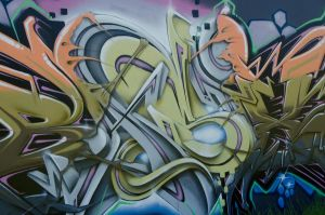 Graffiti Abstract by SilencingHonesty