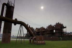 Gasworks Park 1 by happeningstock