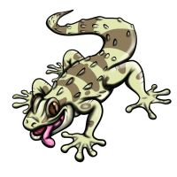 Guillermo the Gecko by tombola1993
